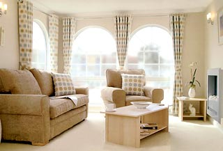 There Are Extensive Ranges Of Interior Fittings And Furnishings To Choose From Including Exciting Colours Fabrics In Curtains